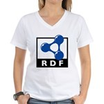 RDF Women's V-Neck T-Shirt