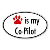 Dog is my Co-Pilot Decal