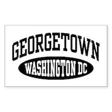 Georgetown Washington DC Decal