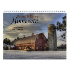 Wall Calendar:Farms And Barns Minnesota 2014
