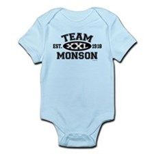 Team Monson XXL - LDS T-Shirt Infant Bodysuit