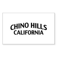 Chino Hills California Decal