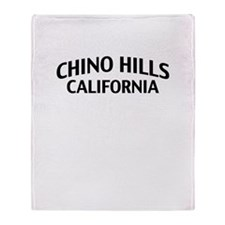 Chino Hills California Throw Blanket