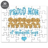 Ethnic Mom 7 Boys Puzzle