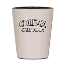 Colfax California Shot Glass