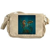 Seahorse and Friends Messenger Bag