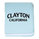 Clayton California baby blanket