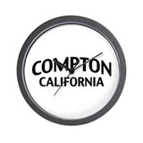 Compton California Wall Clock