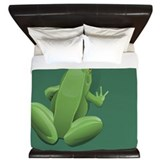 Tree Frog King Duvet