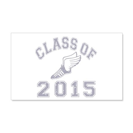 Class Of 2015 Track & Field 22x14 Wall Peel