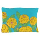 Bold Bloom Blue Pillow Case