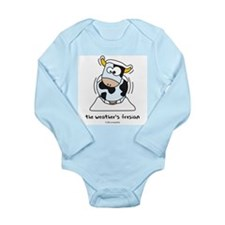 Cute Funny cold weather Long Sleeve Infant Bodysuit
