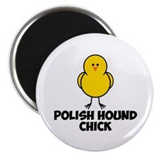 "Polish Hound Chick 2.25"" Magnet (100 pack)"