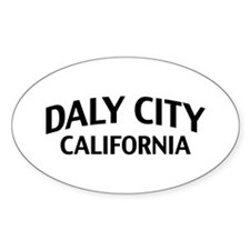 Daly City California Decal