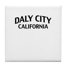 Daly City California Tile Coaster