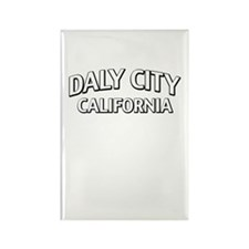 Daly City California Rectangle Magnet