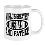 Greatest Husband And Father Small Mugs