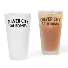 Culver City California Drinking Glass