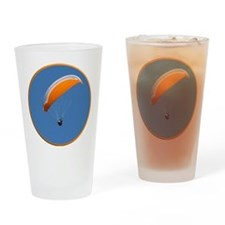 Helaine's Paragliding Drinking Glass