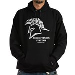 Hoodie (dark) With Logo and Name (Stencil)