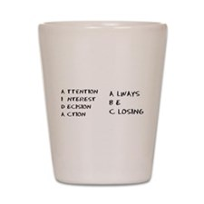 Glengarry Closers Shot Glass