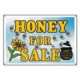 Honey Sale Banner