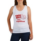 This Girl Republican Women's Tank Top