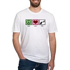 Peace Love Film Shirt