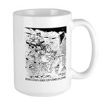 Archaeology On Mars Large Mug