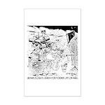 Archaeology On Mars Mini Poster Print