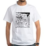 Archaeology On Mars White T-Shirt