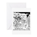 Archaeology On Mars Greeting Cards (Pk of 10)