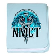 NMCT Caduceus Blue baby blanket