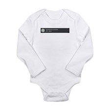 Cute Unlock Long Sleeve Infant Bodysuit