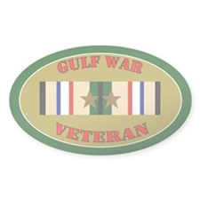 Gulf War 2 Campaign Stars Decal