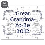 Great Grandma-to-Be 2012 Puzzle