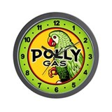 Polly Gas Wall Clock