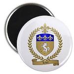 LEBEL Family Crest Magnet