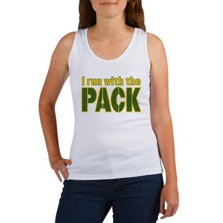 I run with the Pack Women's Tank Top
