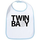 Unique Baby twins Bib