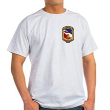 2-Sided USS Fox Light T-Shirt