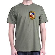 2-Sided USS Fox T-Shirt