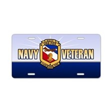 USS Fox Aluminum License Plate