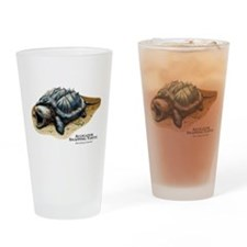 Alligator Snapping Turtle Drinking Glass