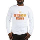 Destination Florida Long Sleeve T-Shirt
