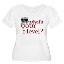 Custom QR What's your i-lvl? T-Shirt