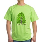 Evolution Green T-Shirt