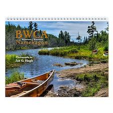 Wall Calendar: BWCA Namekagon 2014