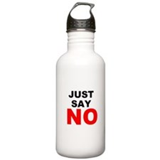 No to Drugs Water Bottle