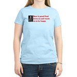Ben Franklin: Beer Quote Women's Light T-Shirt